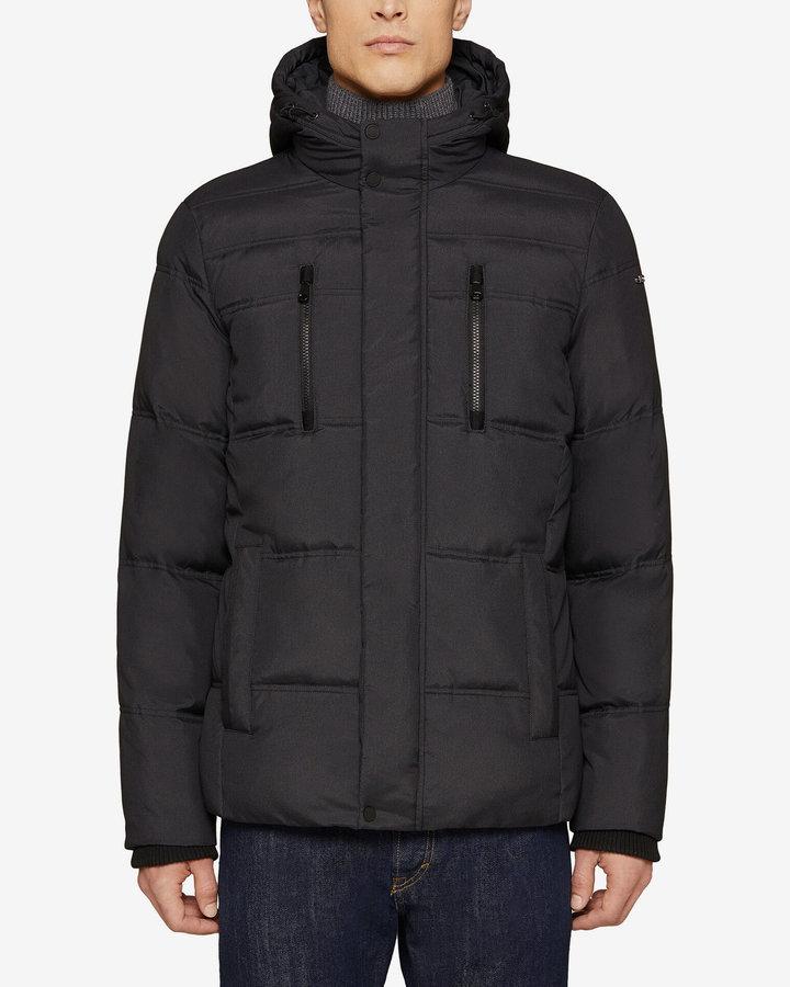 Černá zimní pánská bunda Geox