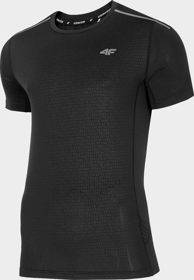 Červené pánské běžecké tričko 4F