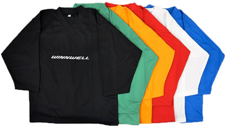 Zelený rozlišovací hokejový dres Winnwell - velikost L-XL
