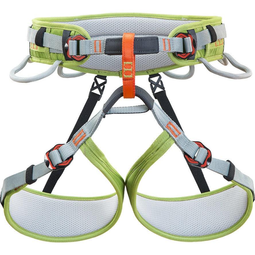 Šedo-žlutý pánský horolezecký úvazek ASCENT, Climbing Technology