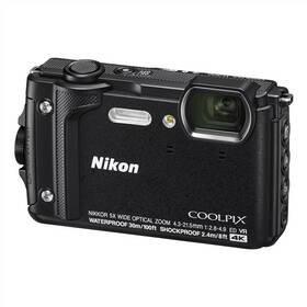 Černý outdoorový fotoaparát Coolpix W300, Nikon