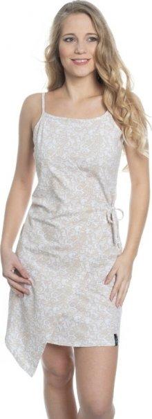 Béžové dámské šaty Sam 73