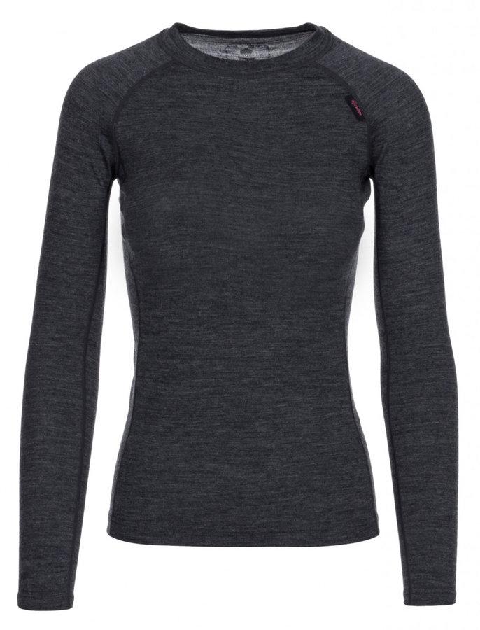 Šedé dámské funkční tričko s dlouhým rukávem Kilpi