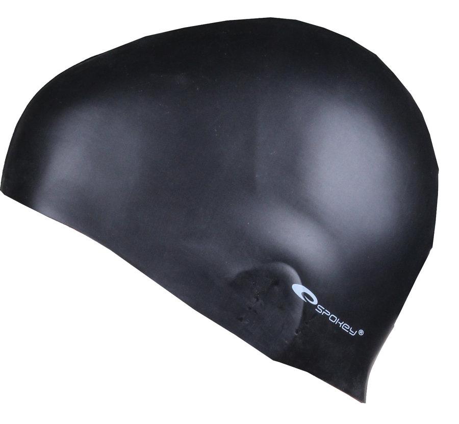 Černá dámská nebo pánská plavecká čepice SUMMER, Spokey