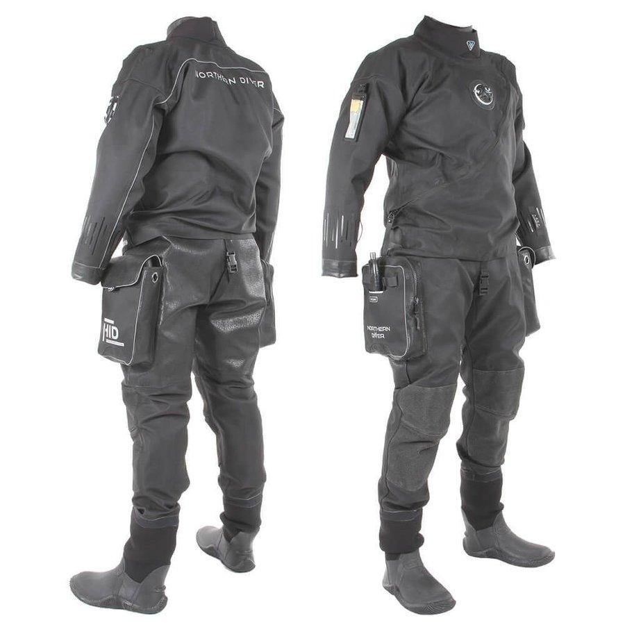 Černý pánský suchý oblek Northern Diver - velikost XXL