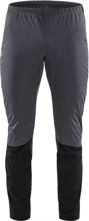 Černo-šedé pánské kalhoty na běžky Craft