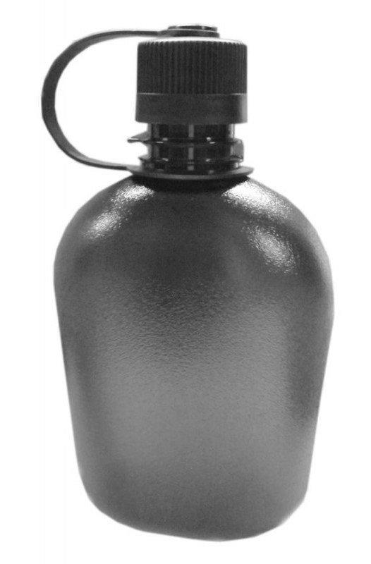 Šedá láhev na pití Tritan Flask, Pinguin
