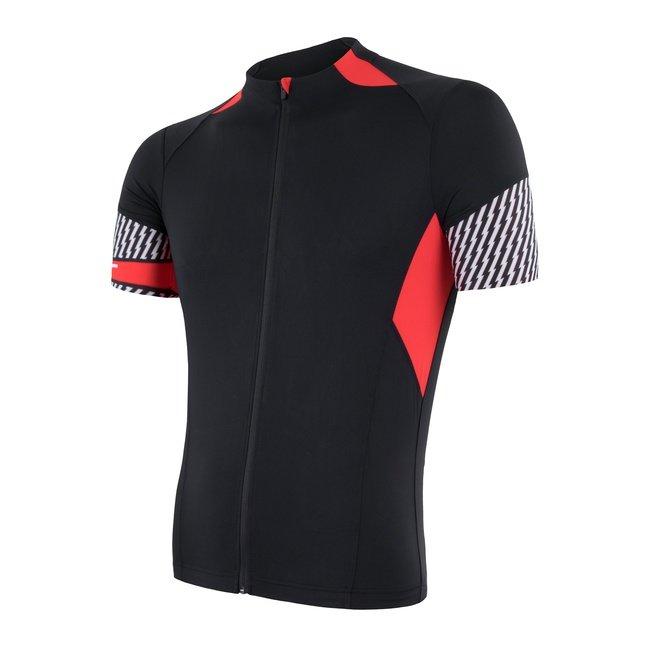 Černý pánský cyklistický dres Sensor - velikost S
