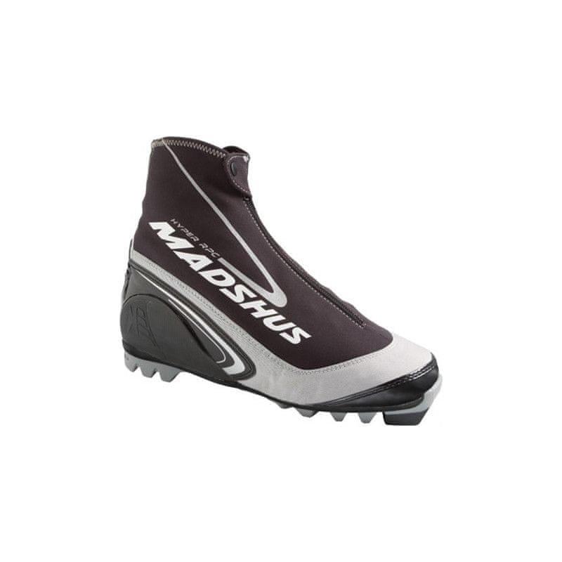 Bílo-černé boty na běžky Madshus - velikost 47 EU