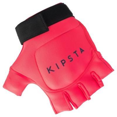 Růžové rukavice na pozemní hokej Kipsta