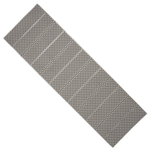 Šedá podložka na cvičení Yate - tloušťka 1,5 cm