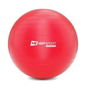 Červený gymnastický míč Hop-Sport - průměr 75 cm
