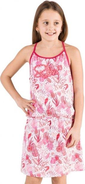 Růžové dívčí šaty Sam 73 - velikost 164-170