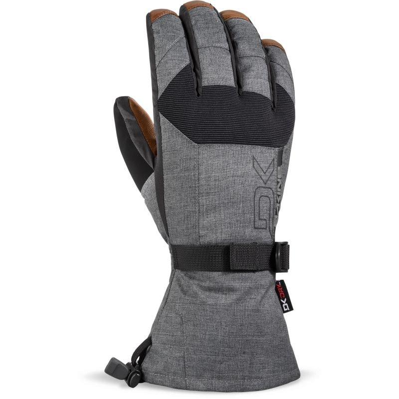 Šedé zimní rukavice Dakine - velikost M