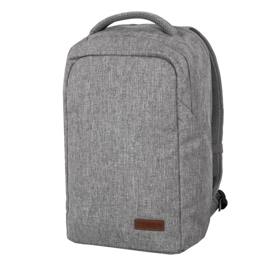 Batoh - Travelite Basics Safety Backpack Light grey