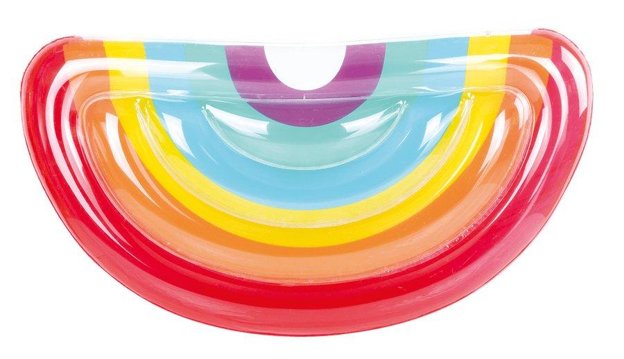 Různobarevné dětské nafukovací lehátko Duha TM Toys - délka 172 cm a šířka 89 cm