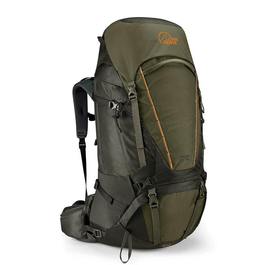 Batoh - Batoh Lowe Alpine Diran 65:75 Velikost zad batohu: L/XL / Barva: zelená