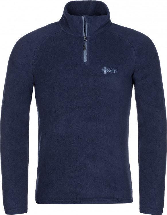 Modrá pánská lyžařská mikina bez kapuce Kilpi