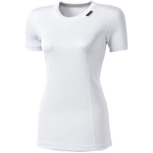 Bílé dámské funkční tričko s krátkým rukávem Progress - velikost M