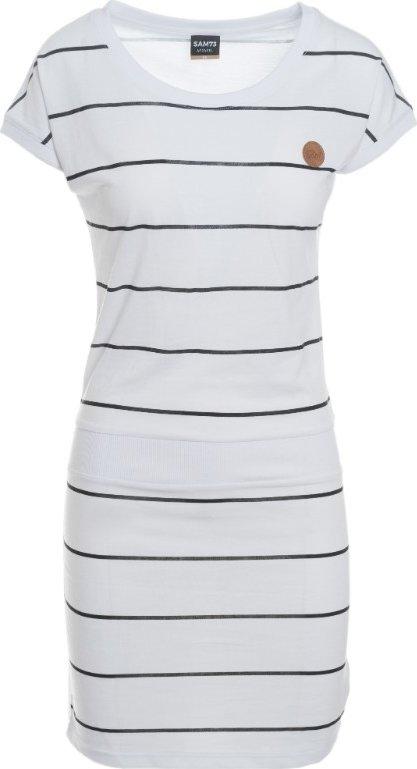 Bílé dámské šaty Sam 73 - velikost XXL