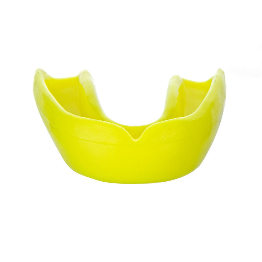Žlutý chránič zubů na bojové sporty Paffen sport