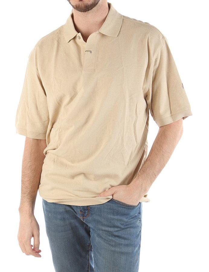 Béžové pánské tričko s krátkým rukávem Ashworth - velikost L