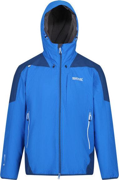 Modrá zimní pánská bunda s kapucí Regatta - velikost S