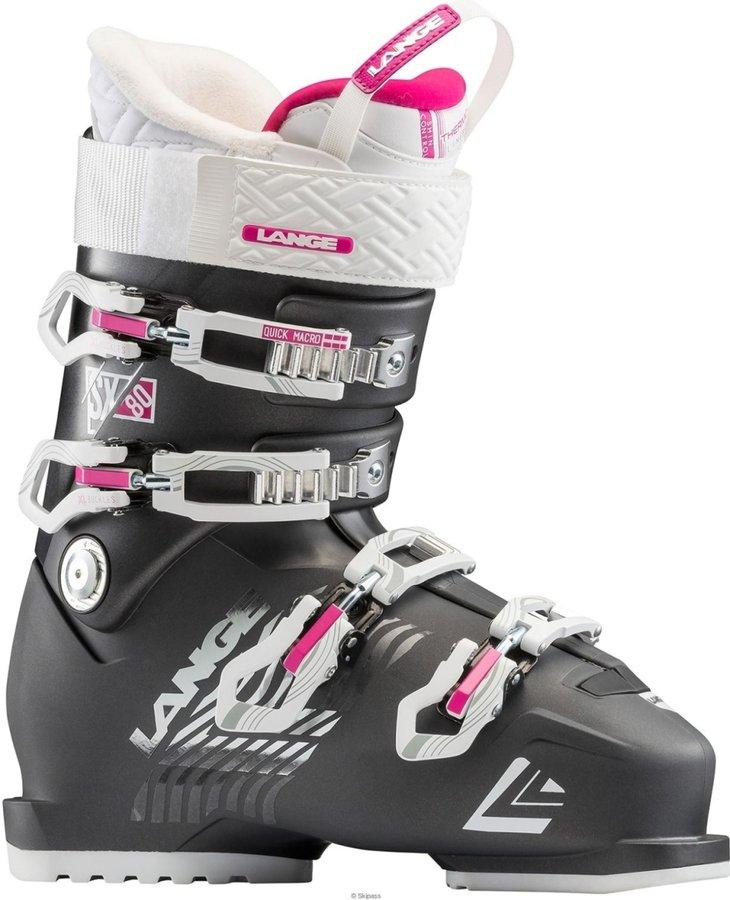Dámské lyžařské boty Lange - velikost vnitřní stélky 26 cm