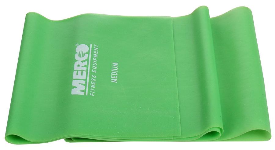 Posilovací guma - Merco Aerobic Band posilovací guma zelená