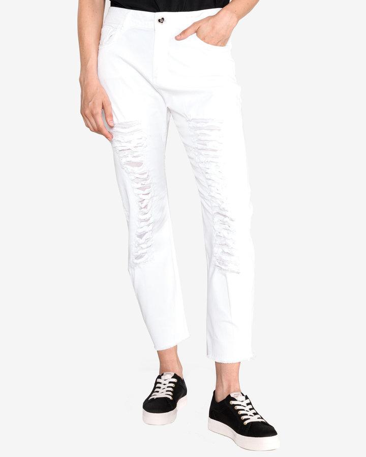 Bílé dámské džíny Twinset