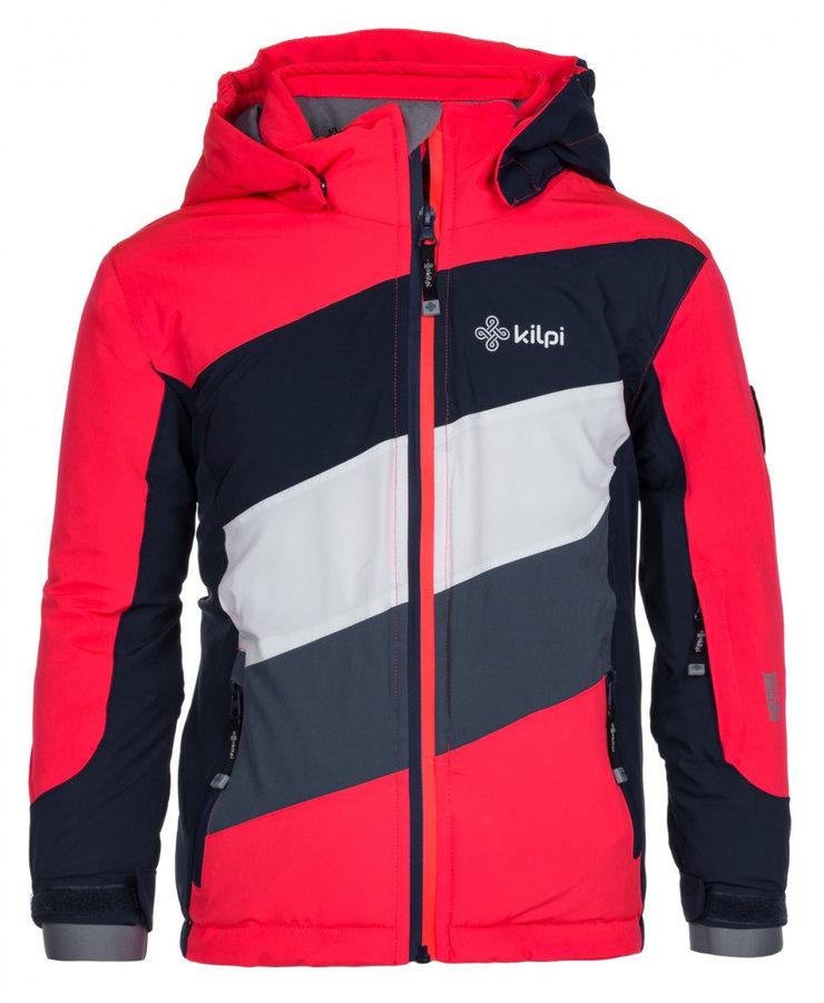 Červeno-modrá dětská bunda Kilpi