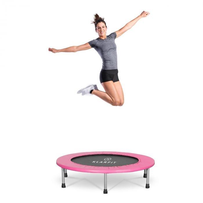 Kruhová fitness trampolína Klarfit - průměr 96 cm