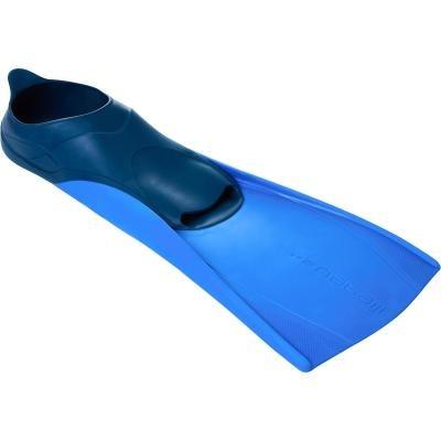 Modré plavecké krátké ploutve TRAINFINS, Nabaiji