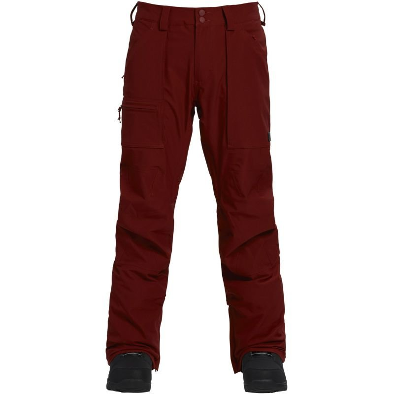 Červené pánské snowboardové kalhoty Burton - velikost L