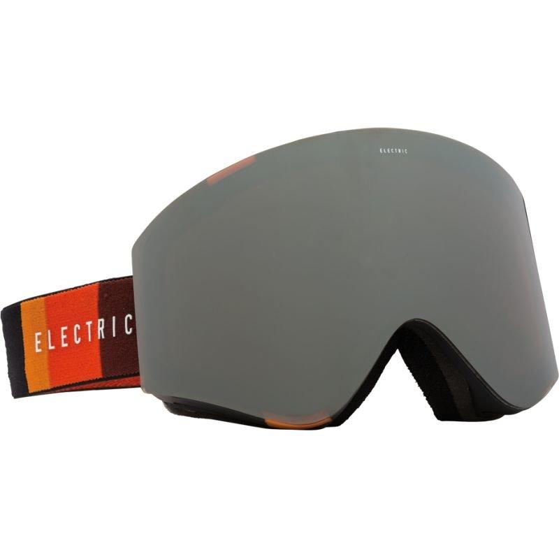 Černé pánské lyžařské brýle Electric