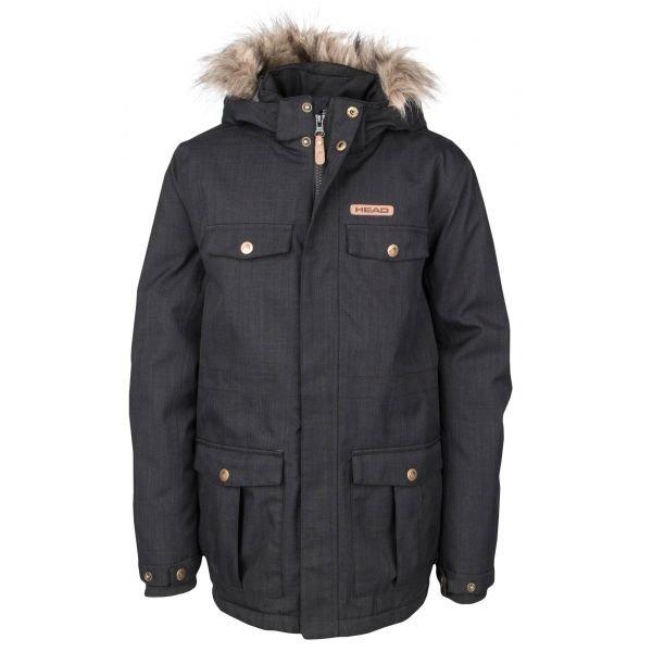 Černá chlapecká bunda Head - velikost 116