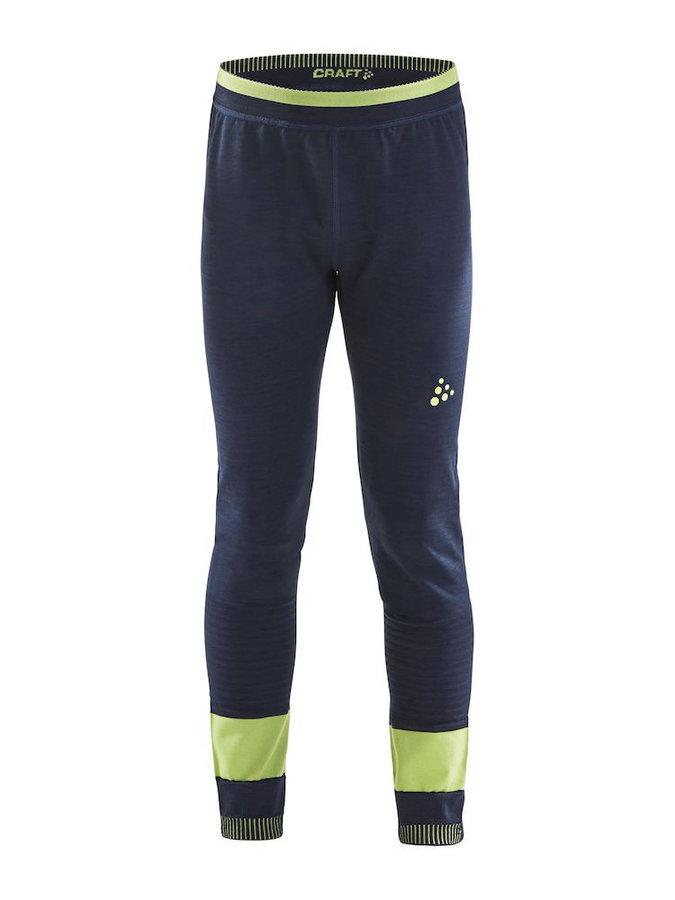 Modré dětské funkční kalhoty Craft