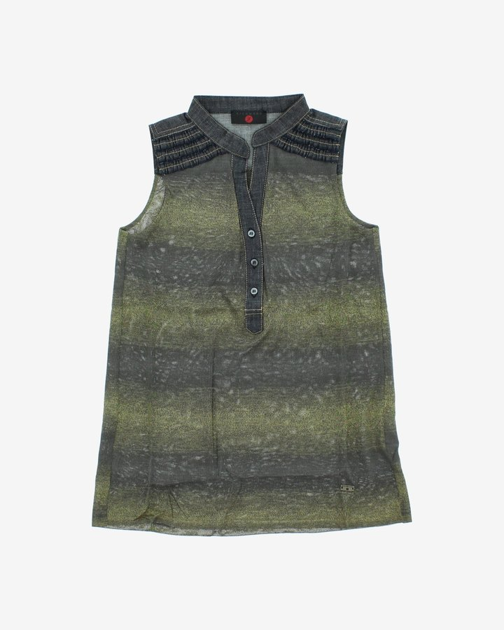 Zelené dívčí šaty John Richmond - velikost 116