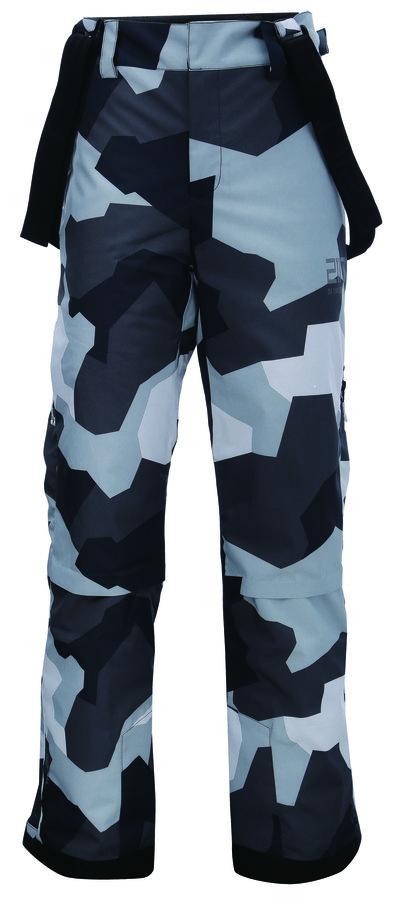 Maskáčové pánské lyžařské kalhoty 2117 of Sweden