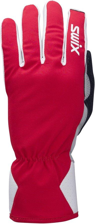 Červené dámské rukavice na běžky Swix