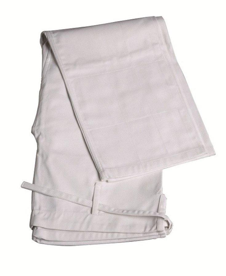 Bílé kalhoty na judo Adidas - velikost 160