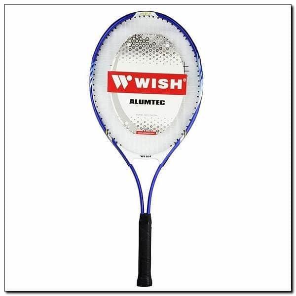 Modrá tenisová raketa Wish - délka 68,6 cm
