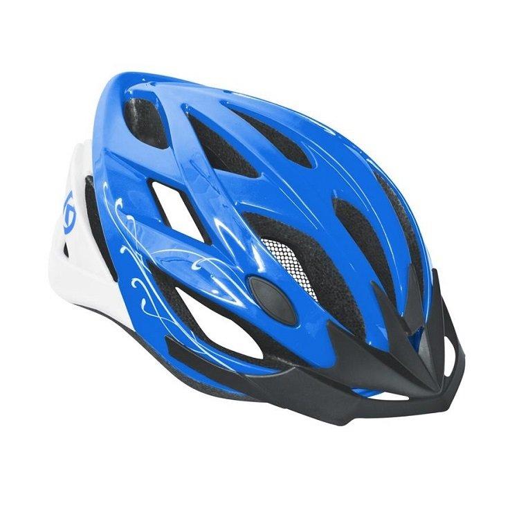 Modrá cyklistická helma DIVA, Kellys - velikost 58-61 cm