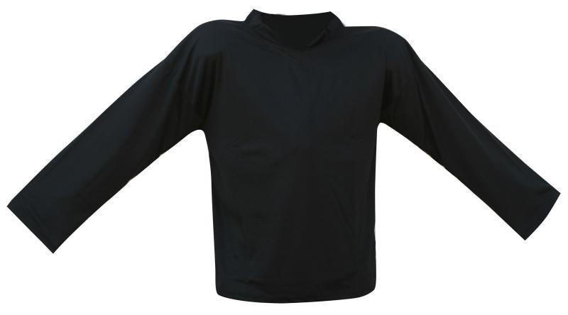 Černý hokejový dres - velikost XL