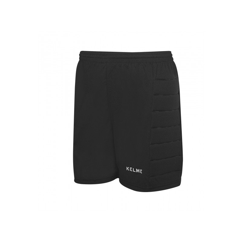 Černé pánské brankářské fotbalové kraťasy Kelme - velikost XL