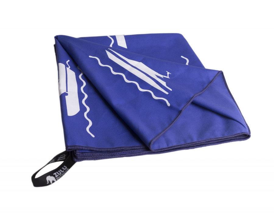 Ručník - Ručník Zulu Light 85x150 cm moře Barva: modrá