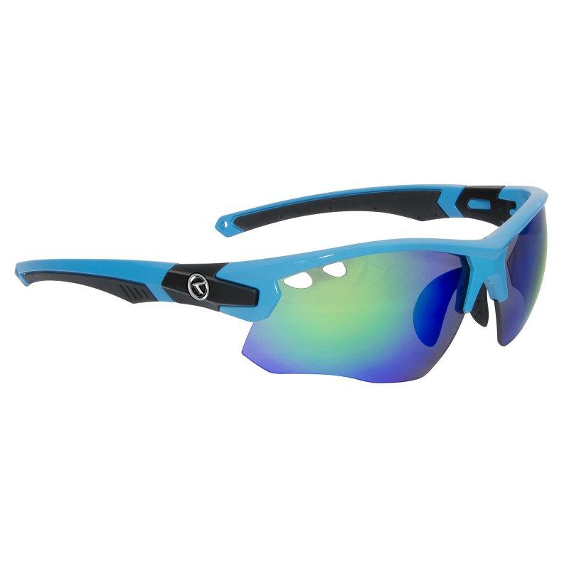 Modré cyklistické brýle Stranger, Kellys