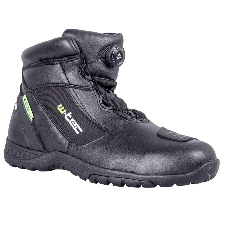Černé nízké pánské motorkářské boty Electra, W-TEC - velikost 40 EU