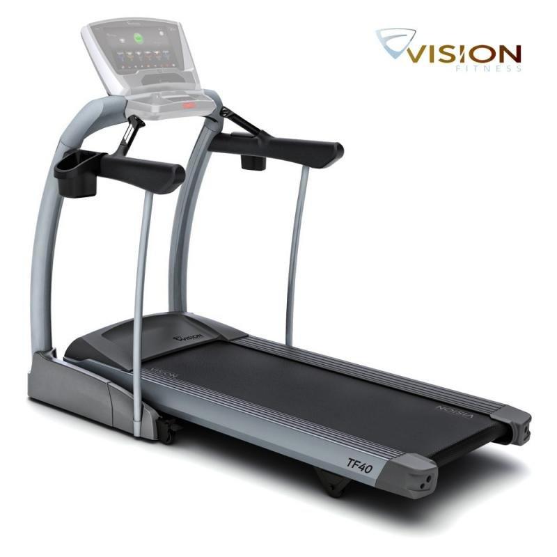 Běžecký pás TF40 Basis, Vision Fitness - nosnost 182 kg