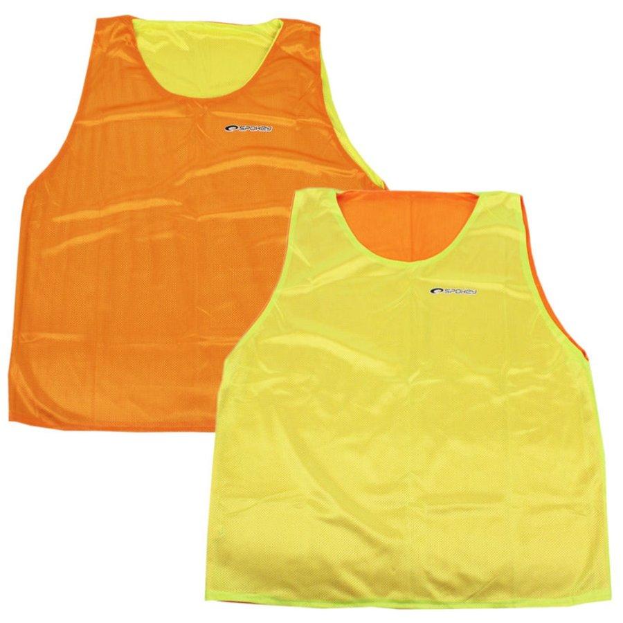 Oranžovo-žlutý rozlišovací dres Spokey